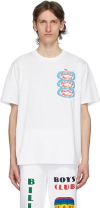 Billionaire Boys Club White Apple Logo T-Shirt