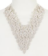 Cezanne Layered Leaves Statement Necklace