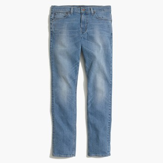 J.Crew Straight-fit flex jean in light wash