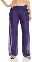 Anne Cole Women's Mesh Cover Up Pant
