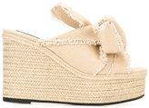 No.21 braided trim sandals - women - Cotton/Leather/rubber - 37.5