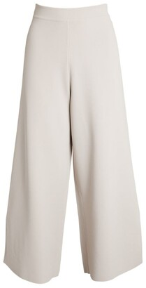 Stella McCartney Knit Wide-Leg Trousers