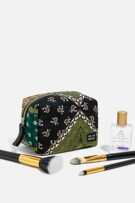 Urban Outfitters Satin Patchwork Makeup Bag - Assorted ALL at