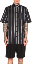 Givenchy Short Sleeve Button Down Shirt