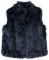 Jigsaw Fluffy Faux Fur Gilet