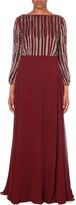 Diane von Furstenberg Mattea embellished silk gown