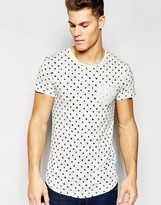 Esprit T-Shirt with All Over Print