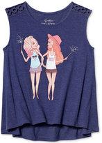 Jessica Simpson Graphic-Print Tank Top, Big Girls (7-16)