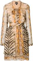 Just Cavalli animal print dress