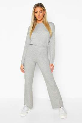 boohoo Crew Neck Knitted Set