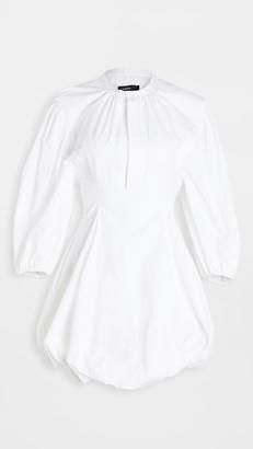 Bassike Cotton Balloon Sleeve Dress
