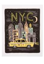Rifle Paper Co. Bon Voyage Nyc Art Print