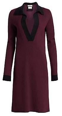 Bottega Veneta Women's Cashmere-Blend Polo Dress