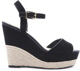 Forever 21 FOREVER 21+ Faux Suede Espadrille Wedges