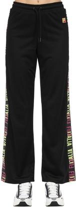 Fila Urban Adora Wide Leg Techno Mesh Pants