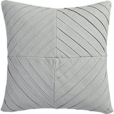 "CB2 Meridian Light Grey 16"" Pillow"