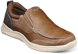 Nunn Bush Conway Moc Toe Slip-On Sneaker