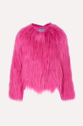 Prada Goat Hair Coat - Pink