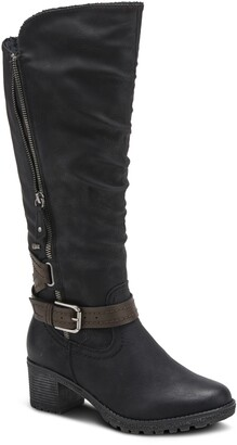Spring Step Spring Street Gemisola Water Resistant Faux Fur Lined Knee High Boot
