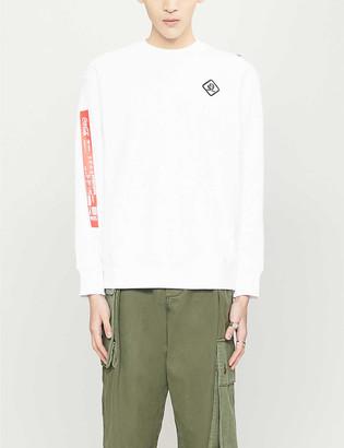 Diesel Coca-Cola cotton-blend jersey sweatshirt
