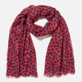 Paul Smith Women's Sea Aster Scarf Red Multi