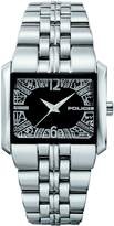 Police Women's Matrix PL.11332LS/02M Silver Stainless-Steel Quartz Watch with Dial