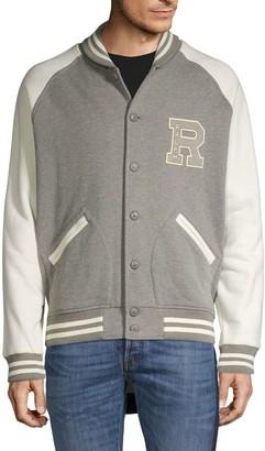 Ralph Lauren Logo Colorblock Cotton-Blend Jacket