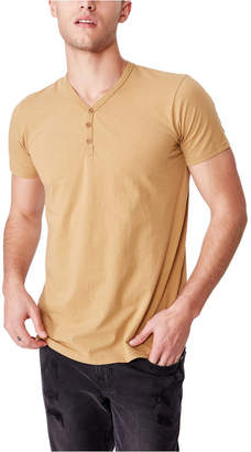 Cotton On Essential Henley T-Shirt