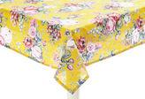 Maison Du Linge Bouquet Tablecloth, Yellow