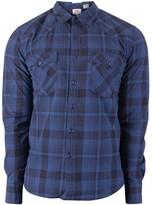Levi's Men's Barstow Western Shirt, Blue blue