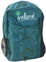 Carrolls Irish Gifts Backpack With Ireland Design, Expandable Ropes For More Storage