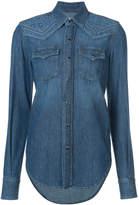 Saint Laurent denim western shirt