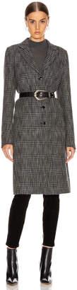 RtA Jamson Coat in Black White Check | FWRD