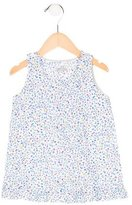 Makie Girls' Floral Print Sleeveless Dress