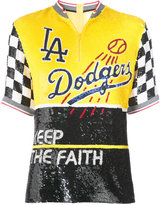 Ashish sequinned Dodgers top