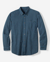Eddie Bauer Men's Classic Fit Long-Sleeve Seersucker Shirt