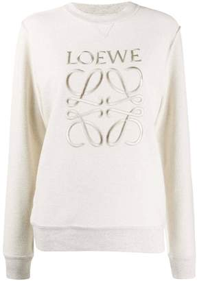 Loewe anagram logo sweatshirt