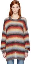 Chloé Multicolor Mohair Sweater