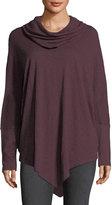 Allen Allen Cowl-Neck Long-Sleeve Sweater