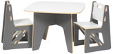 Sprout Sapling Kids 3 Piece Square Table & Chair Set
