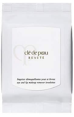 Clé de Peau Beauté Women's Eye & Lip Makeup Remover Towelettes