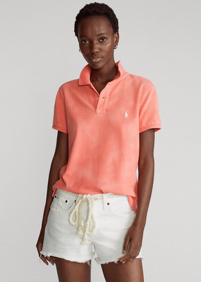 Ralph Lauren Classic Fit Frayed Polo Shirt