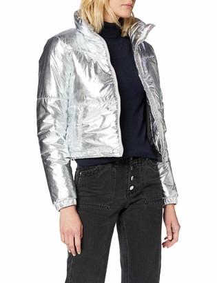 Urban Classics Women's Ladies Puffer-Jacke Metalic Jacket