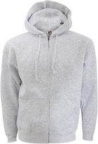 Fruit of the Loom Mens Zip Through Hooded Sweatshirt / Hoodie (L)