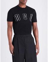 Mcq Alexander Mcqueen Logo-appliqué Cotton-jersey T-shirt