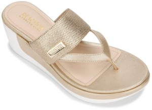 Kenneth Cole Reaction Women's Pepea Wedge Sandals Women's Shoes