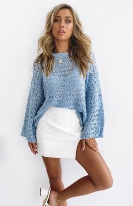 Beginning Boutique Serendipity Knit Jumper Blue
