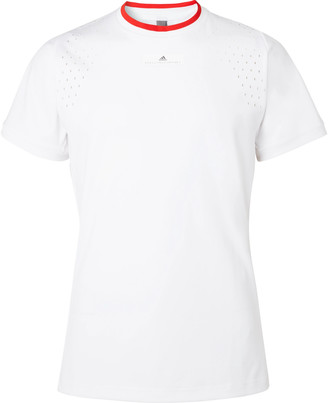 Stella McCartney Adidas Sport + Stretch-Jersey T-Shirt