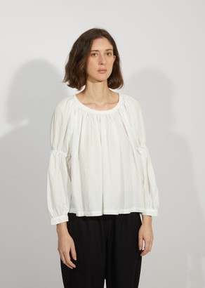 Comme des Garcons Garment Treated Cinched Loose Blouse