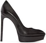 Saint Laurent Black Platform Janis Heels